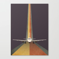 Take Off Canvas Print by Schwebewesen • Romina Lutz