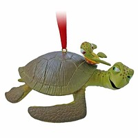 disney christmas ornament crush and squirt finding nemo new with tags