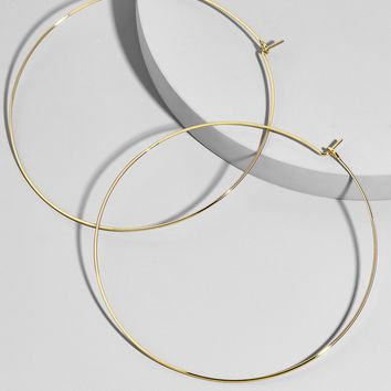 Patrice Hoop Earrings
