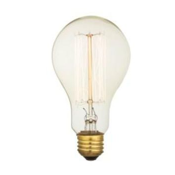 Edison Filament - Edison Antique Vintage Light Bulb - 40 wattage - E26 - 3,000 hrs of life