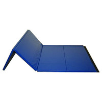 Blue Folding Mat for Gymnastics by Nimble Sports