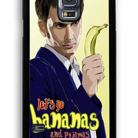 Doctor Who Lets Go Bananas for Samsung Galaxy S5 Hard Cover Plastic