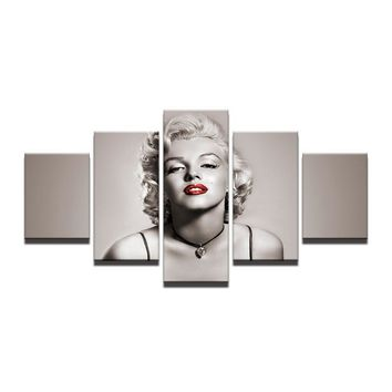 Sexy Marilyn Monroe Pose Canvas Panel Art Wall Picture Print Framed UNframed