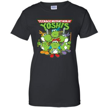Charming Teenage Mutant Ninja Turtles Yoshi 2017 T Shirt