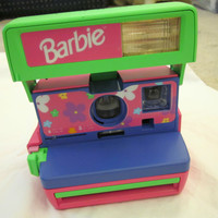 Vintage Polaroid Barbie Instant Film Camera