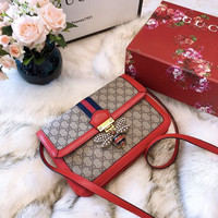 GUCCI Queen Margaret GG Supreme medium shoulder bag