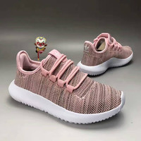 """Adidas"" Fashion Casual Coconut Breathable Knit Net Surface Women Sneakers Running Shoes"