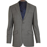 River Island MensGrey Life Of Tailor suit jacket