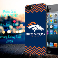 Football Club logo Denver Broncos Samsung Galaxy S3/ S4 case, iPhone 4/4S / 5/ 5s/ 5c case, iPod Touch 4 / 5 case