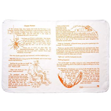 James and the Giant Peach Storybook Baby Blanket