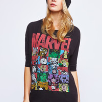 0588-61172217 Marvel Graphic Dolman Tee