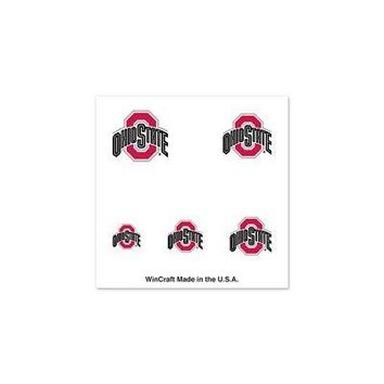 Licensed Ohio State Buckeyes Official NCAA Varying Fingernail Tattoo Set OSU by Wincraft KO_19_1