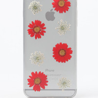 LA Hearts Pressed Red Flower iPhone 6+/6+s Case at PacSun.com