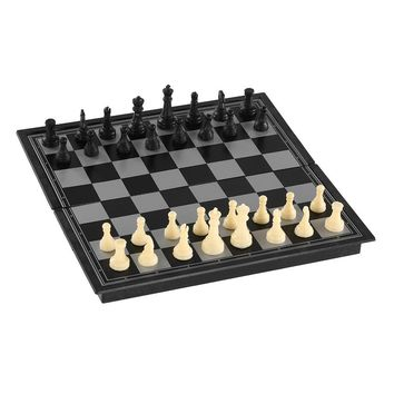 Magnetic Chess Set International Chess Educational Chess Set Entertainment Game Chess with Folding Board
