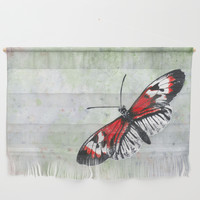 Piano key Butterfly (Heliconius melpomene) Wall Hanging by savousepate