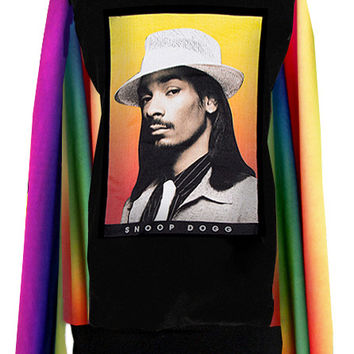 Dogg Snoop Dogg Rainbow Gradient Sweater