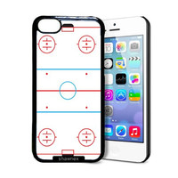 Shawnex Ice Hockey Rink iPhone 5C Case - Thin Shell Plastic Protective Case iPhone 5C Case