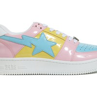A Bathing Ape Bapesta Tri-Color Pink (2018) - TBD
