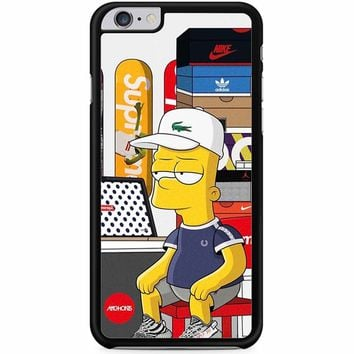 Bart Simpson And Milhouse Supreme iPhone 6 Plus / 6S Plus Case