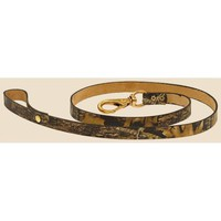 Camo Leather Dog Leash