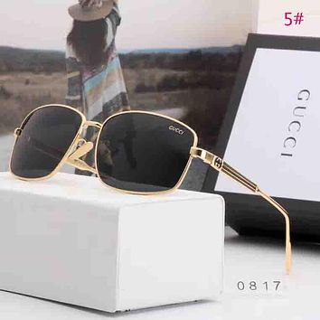 GUCCI Fashion New Polarized Men Business Casual Sunscreen Eyeglasses Glasses