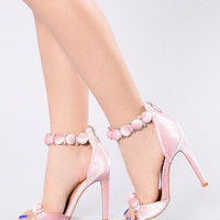 Ball Call Heel - Blush