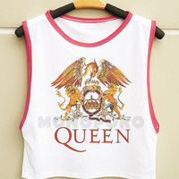 S M L -- Queen Band Shirts Queen Shirts Rock Shirts Muscle Top Muscle Tee Muscle Shirts Women Shirts Women Tank Top Shirts Women TShirts