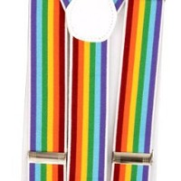 "Rainbow Suspenders 1.5"" wide"