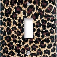 Leopard Print Switch Plate - S...