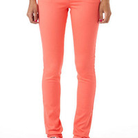 Olivia Color Jegging Peach