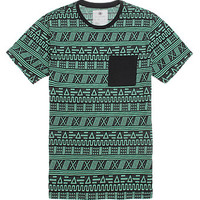 On The Byas Shawn Ethnic Jacquard Crew T-Shirt at PacSun.com