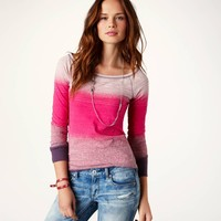 AE Striped Long Sleeve T | American Eagle Outfitters