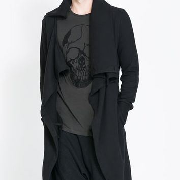 CROSSOVER CAPE JACKET - Sweatshirts - Man | ZARA United States