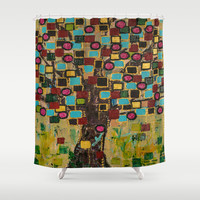 :: Jewel Tree :: Shower Curtain by :: GaleStorm Artworks ::