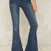 One Teaspoon Parklane Flared Jeans