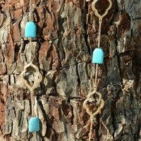 ONE AND ONLY LOVE NECKACE IN TURQUOISE