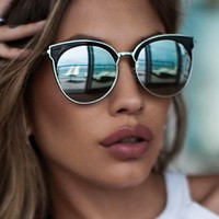 Mia Bella Sunglasses Black/Silver