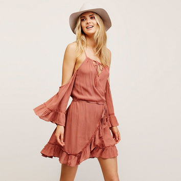 Free People Endless Summer Ray of Sun Wrap Tunic