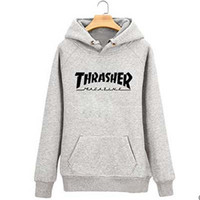 Thrasher Hoodie Men Streetwear Tracksuit pull Skate Sudaderas Mens hoodies and sweatshirt magazine skateboard trasher jumper