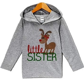 Custom Party Shop Baby's Little Sister Christmas Hoodie