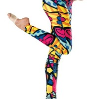 Comic Print Leggings - Urban Groove