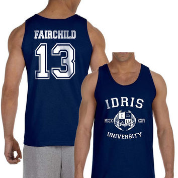 Fairchild 13 Idris University Navy Men Tank top