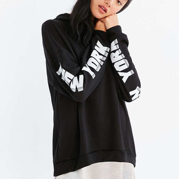 Project Social T NYC Hoodie Sweatshirt - Urban Outfitters