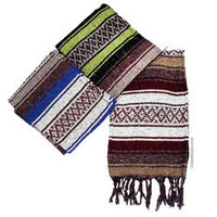Striped Falsa Blanket on sale for $14.95 at Hippie Shop