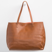 Reversible Faux Leather Tote | Totes & Messenger Bags