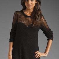 Free People Cozy Ginger Pullover in Black from REVOLVEclothing.com