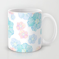 Blossoms Pastel Mug by Lisa Argyropoulos