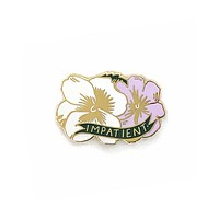 Impatient Flower Pin
