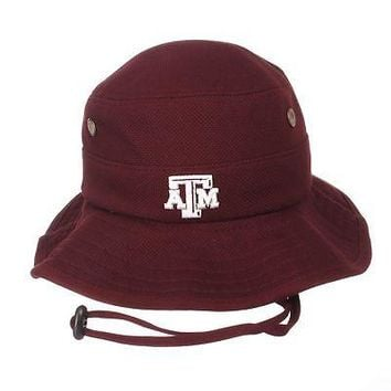 online store b4e77 8323d Licensed Texas A M Aggies Official NCAA Coach Small Bucket Hat C