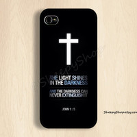 iPhone 5/5s, 5c, 4/4s & Samsung Galaxy S4, S3 cases | God / Jesus / Bible / Love / Faith / Hope / Christian iPhone 5 case